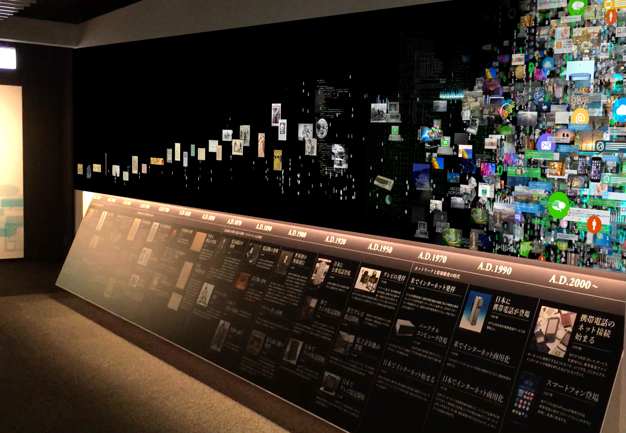 新聞博物館 / 情報の海